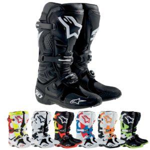 Motocross Stiefel Alpinestars schwarz